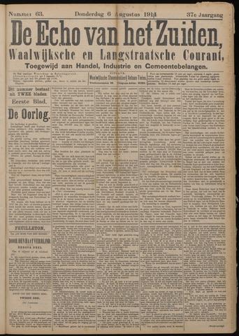 Echo van het Zuiden 1914-08-06