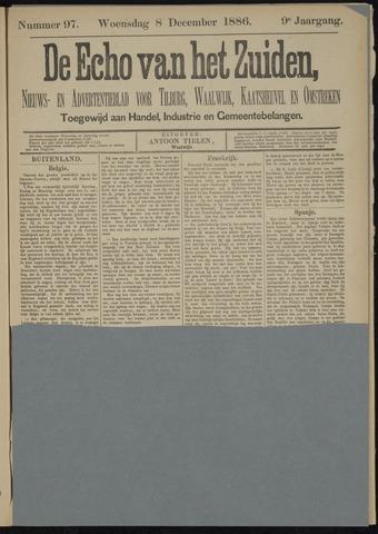 Echo van het Zuiden 1886-12-09