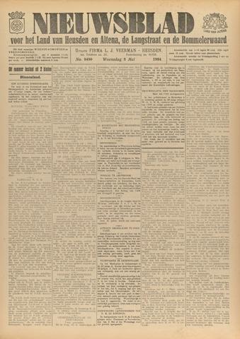 Nieuwsblad het land van Heusden en Altena de Langstraat en de Bommelerwaard 1934-05-02