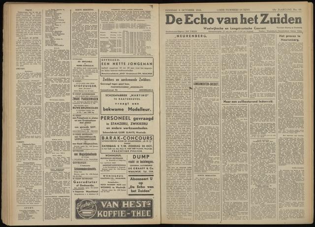 Echo van het Zuiden 1946-10-08