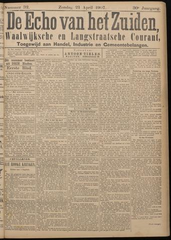 Echo van het Zuiden 1907-04-21