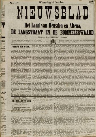 Nieuwsblad het land van Heusden en Altena de Langstraat en de Bommelerwaard 1882-10-04