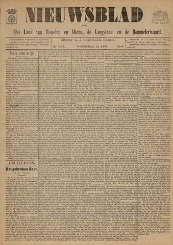 Nieuwsblad het land van Heusden en Altena de Langstraat en de Bommelerwaard 1896-08-19