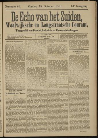 Echo van het Zuiden 1891-10-18