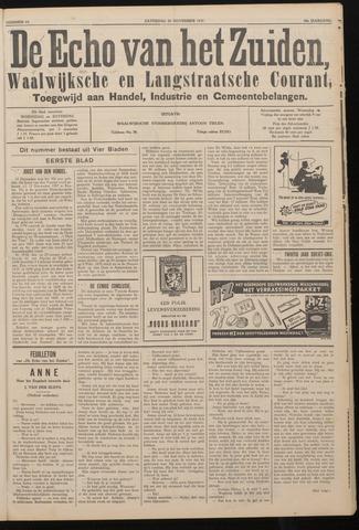 Echo van het Zuiden 1937-11-20