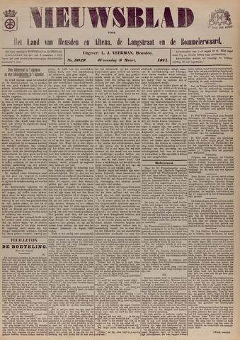 Nieuwsblad het land van Heusden en Altena de Langstraat en de Bommelerwaard 1911-03-08