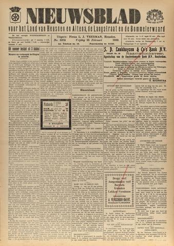 Nieuwsblad het land van Heusden en Altena de Langstraat en de Bommelerwaard 1932-02-26