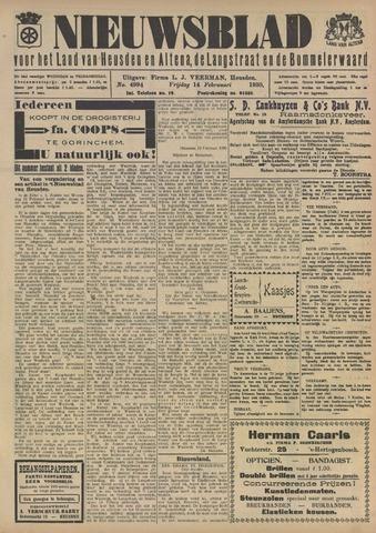 Nieuwsblad het land van Heusden en Altena de Langstraat en de Bommelerwaard 1930-02-14