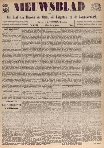 Nieuwsblad het land van Heusden en Altena de Langstraat en de Bommelerwaard 1909-06-05