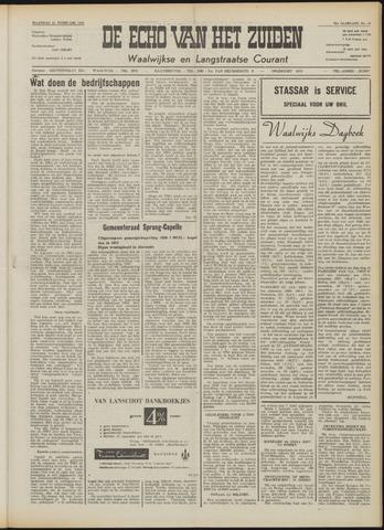 Echo van het Zuiden 1958-02-24