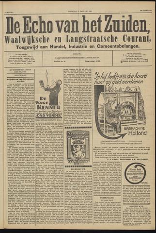 Echo van het Zuiden 1929-01-12