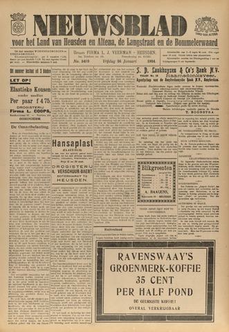Nieuwsblad het land van Heusden en Altena de Langstraat en de Bommelerwaard 1934-01-26