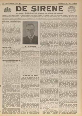 De Sirene 1946-07-01