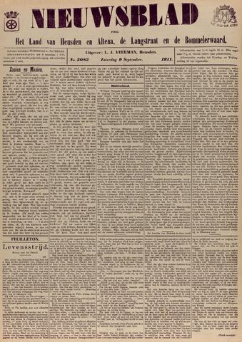 Nieuwsblad het land van Heusden en Altena de Langstraat en de Bommelerwaard 1911-09-09