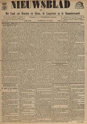 Nieuwsblad het land van Heusden en Altena de Langstraat en de Bommelerwaard 1901-10-12