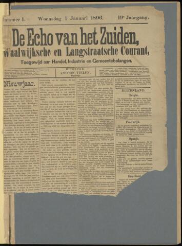Echo van het Zuiden 1896-01-01