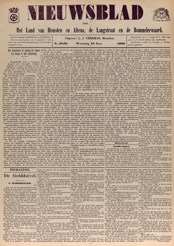 Nieuwsblad het land van Heusden en Altena de Langstraat en de Bommelerwaard 1909-06-16