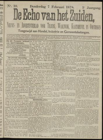 Echo van het Zuiden 1878-02-07