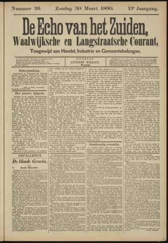 Echo van het Zuiden 1890-03-30