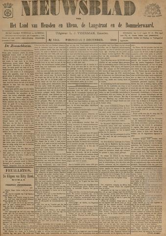 Nieuwsblad het land van Heusden en Altena de Langstraat en de Bommelerwaard 1896-12-02