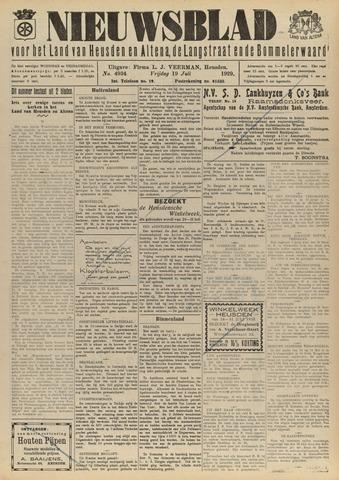 Nieuwsblad het land van Heusden en Altena de Langstraat en de Bommelerwaard 1929-07-19