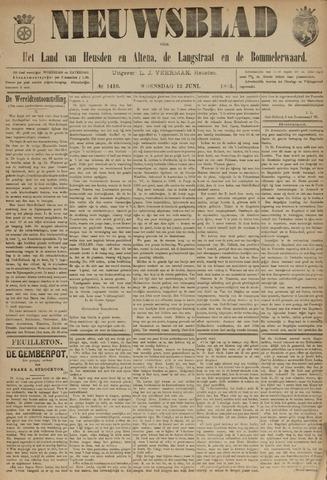 Nieuwsblad het land van Heusden en Altena de Langstraat en de Bommelerwaard 1895-06-12