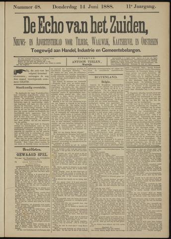 Echo van het Zuiden 1888-06-14