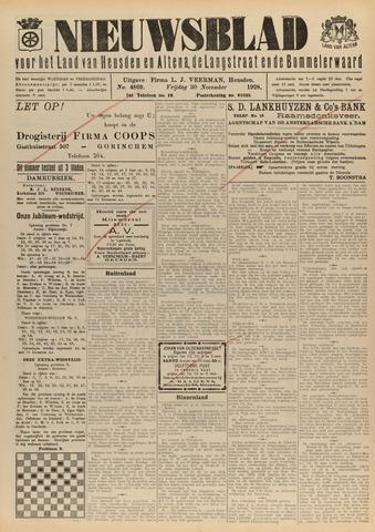 Nieuwsblad het land van Heusden en Altena de Langstraat en de Bommelerwaard 1928-11-30