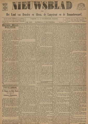 Nieuwsblad het land van Heusden en Altena de Langstraat en de Bommelerwaard 1896-11-07