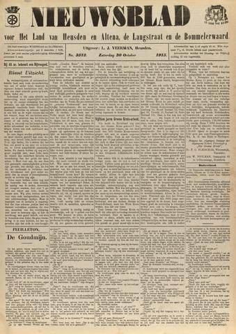 Nieuwsblad het land van Heusden en Altena de Langstraat en de Bommelerwaard 1915-10-30