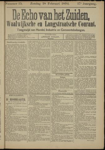Echo van het Zuiden 1894-02-18