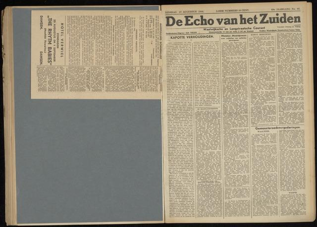 Echo van het Zuiden 1946-08-27