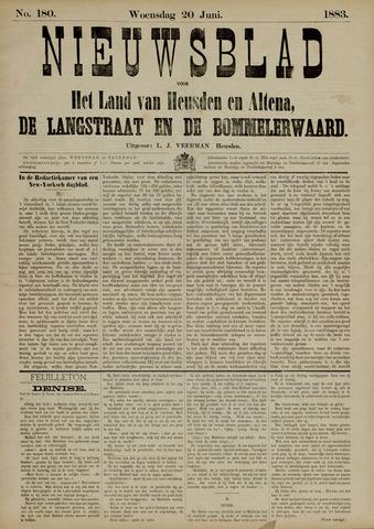Nieuwsblad het land van Heusden en Altena de Langstraat en de Bommelerwaard 1883-06-20
