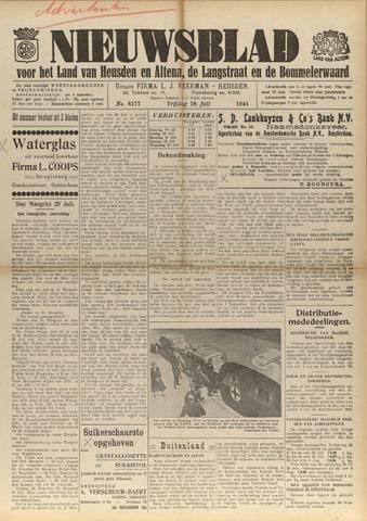 Nieuwsblad het land van Heusden en Altena de Langstraat en de Bommelerwaard 1941-07-18