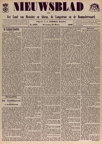 Nieuwsblad het land van Heusden en Altena de Langstraat en de Bommelerwaard 1909-03-31