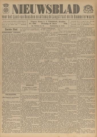 Nieuwsblad het land van Heusden en Altena de Langstraat en de Bommelerwaard 1924-03-26
