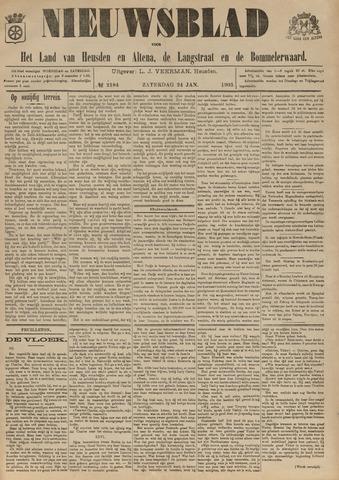 Nieuwsblad het land van Heusden en Altena de Langstraat en de Bommelerwaard 1903-01-24