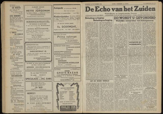 Echo van het Zuiden 1948-11-16