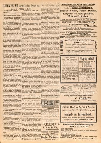 Nieuwsblad het land van Heusden en Altena de Langstraat en de Bommelerwaard 1905-04-29
