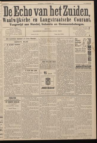 Echo van het Zuiden 1938-11-05