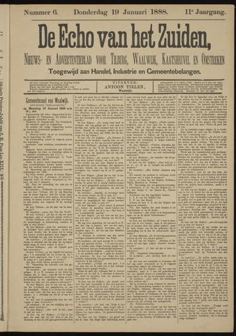 Echo van het Zuiden 1888-01-19