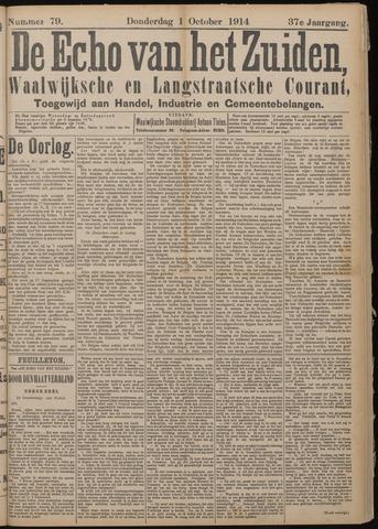 Echo van het Zuiden 1914-10-01