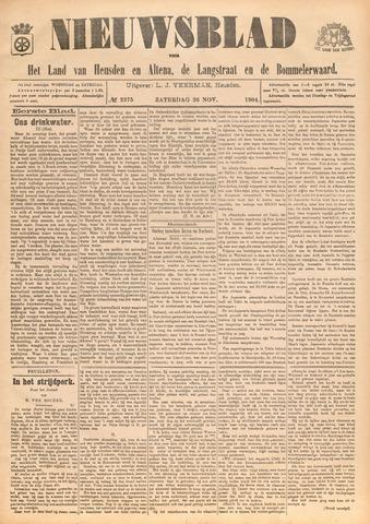Nieuwsblad het land van Heusden en Altena de Langstraat en de Bommelerwaard 1904-11-26