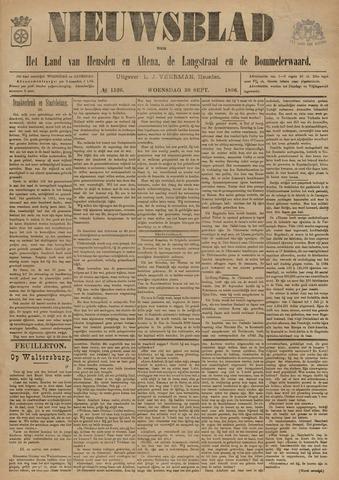 Nieuwsblad het land van Heusden en Altena de Langstraat en de Bommelerwaard 1896-09-30