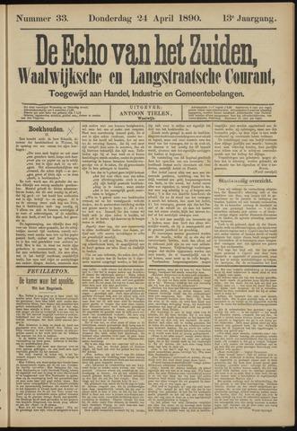 Echo van het Zuiden 1890-04-24