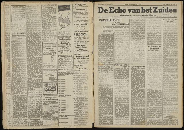 Echo van het Zuiden 1948-06-15