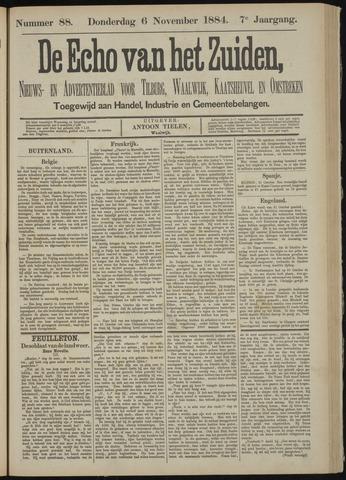 Echo van het Zuiden 1884-11-06