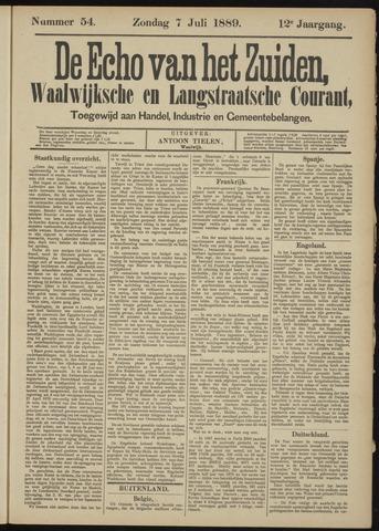 Echo van het Zuiden 1889-07-07