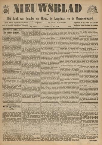 Nieuwsblad het land van Heusden en Altena de Langstraat en de Bommelerwaard 1903-11-21