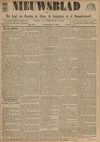 Nieuwsblad het land van Heusden en Altena de Langstraat en de Bommelerwaard 1901-12-04